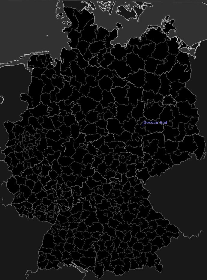 Blixtkarta Tyskland 2021-10-26 (Animering)